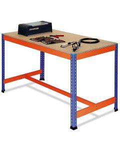 Stół roboczy z dolną belką